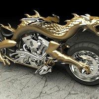 3D nyomtatással készült a Dragon Bike