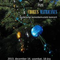 25 éves a Chorus Matricanus - Karácsonyi lemezbemutató koncert