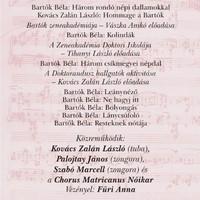 Bartók Zeneakadémiája - koncert