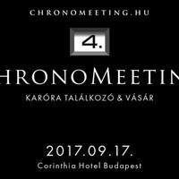 IV. ChronoMeeting kiállítás és vásár!
