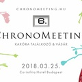 VI. ChronoMeeting Óravásár!