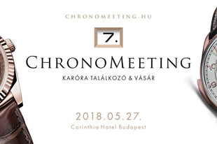VII. ChronoMeeting Óravásár!