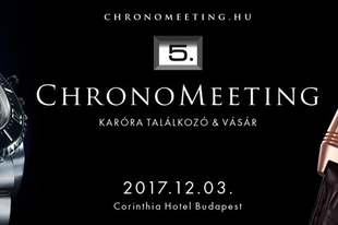 V. ChronoMeeting Óravásár!