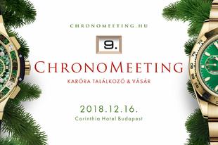 Karácsonyi ChronoMeeting Óravásár!