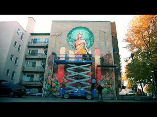 A'shop Crew lenyűgöző utcai művészete