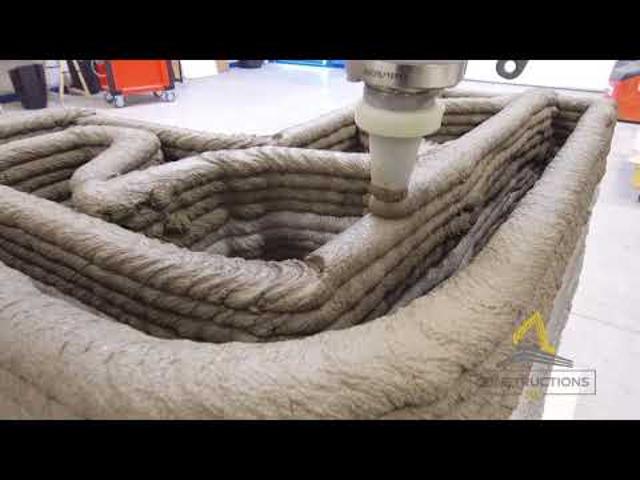 100 négyzetméteres családi ház nyomtatás egy nap alatt