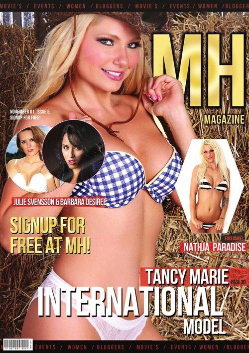Tancy Marie (2013.11. MH Magazine)