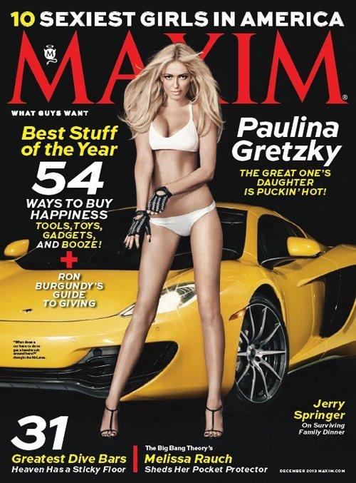 Paulina Gretzky (2013.12. Maxim)