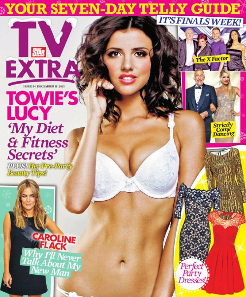Lucy Mecklenburgh (2013.12.15. TV extra)