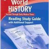 ``UPD`` World History: Reading Study Guide With Additional Support Ancient Through Early Modern Times. verbos Georgia traves fondo Historic immerse