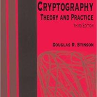 Cryptography: Theory And Practice, Third Edition (Discrete Mathematics And Its Applications) Books Pdf File