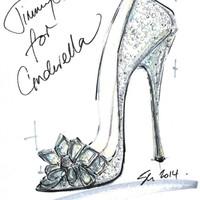 Hamupipőke cipője designer szemmel