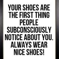 Mit üzen a cipőd?