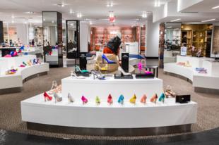 Megújult a cipőosztály a Bloomingdales-ben