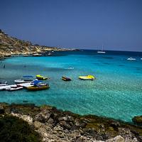 Ciprus egyik legszebb strandja - Konnos Beach