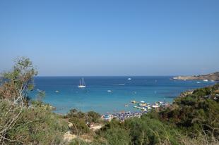 Ciprusi strandok - Konnos Beach