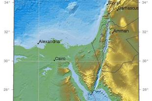 Földrengés Cipruson 2015. április. 15 - M5.5