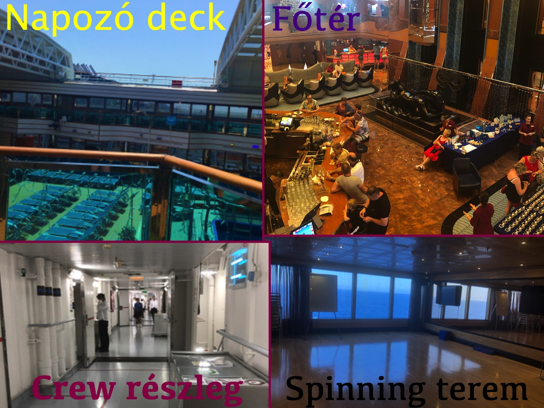 A crew részleg igen sterilnek hat.. Hát ja, van egy kis kórház jellege! Ez minden hajón ugyanolyan!!!