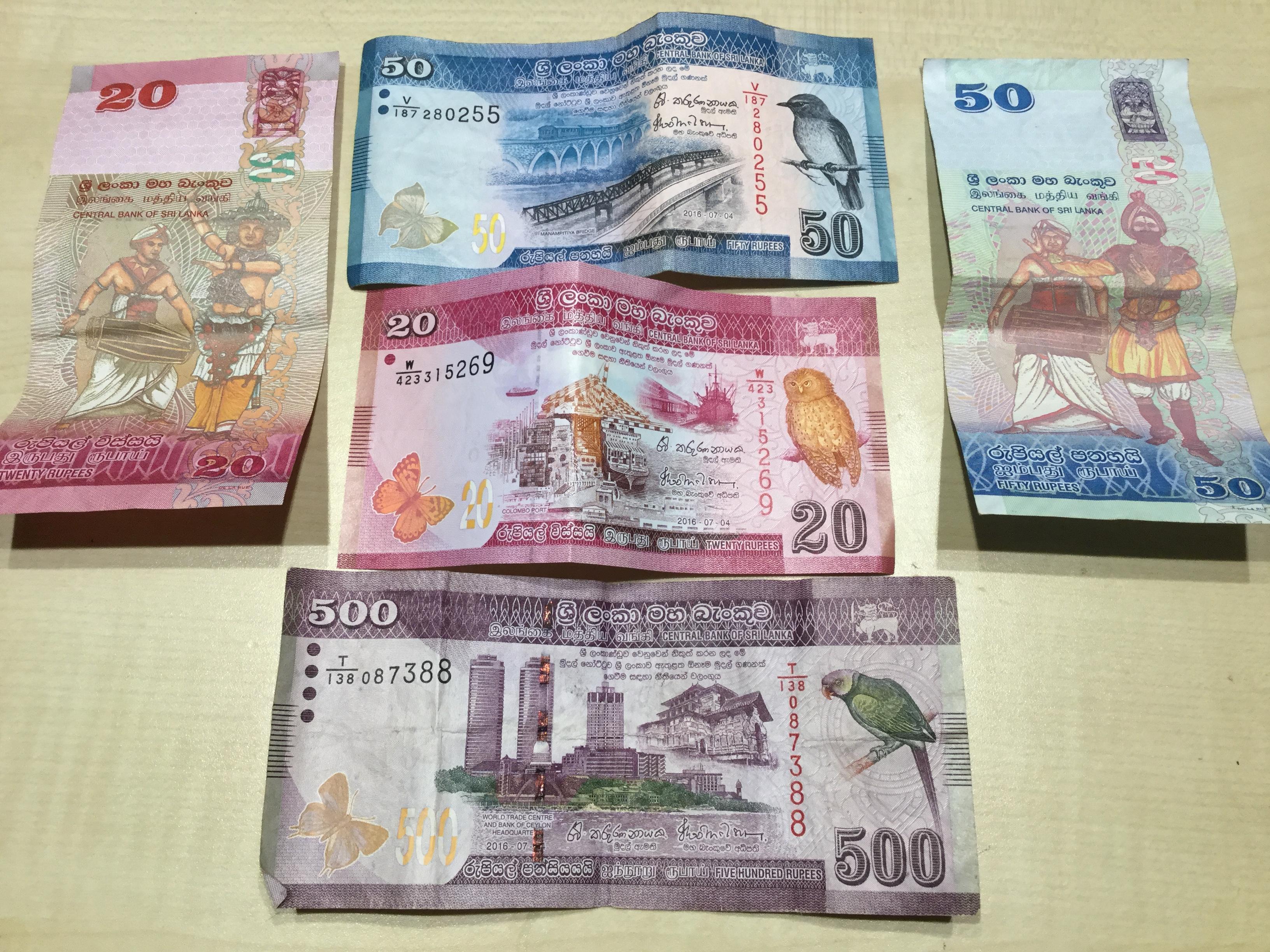 Maldív pénzek