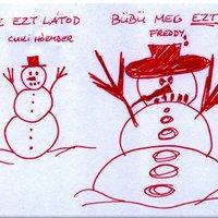 A hóember és Bübü