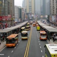 Kína legforgalmasabb buszútja
