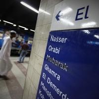 Már a metróban sincs Mubarak