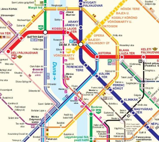 budapest 1 es villamos térkép Új, klassz térképek a Volánbusznál   PTinfo budapest 1 es villamos térkép