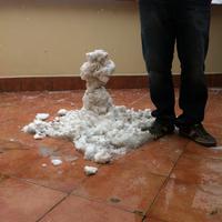 Térdig ér a hó Esztergomban