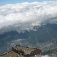 CERN 2009 Genf , a Mont-Blanc, és a hazaút