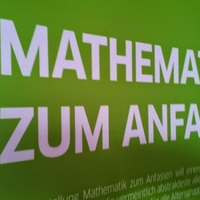 Szemléletes Matematika - interaktív kiállítás a Budapesti Goethe Intézet szervezésében
