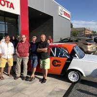 Szülinapi Meglepetés! Kelecsényi Laci újra historic rally versenyautóban!