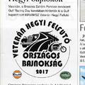2017. Veterán Hegyi Felfutó OB.