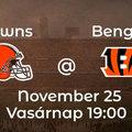 3 ok amiért a Browns legyőzi a Bengalst! Reális playoff esélyek?