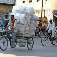 Teherhordás biciklivel