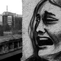 A graffitiktől Pripjaty sem menekül