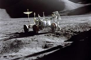 A Holdon jártunk. Jó volt!