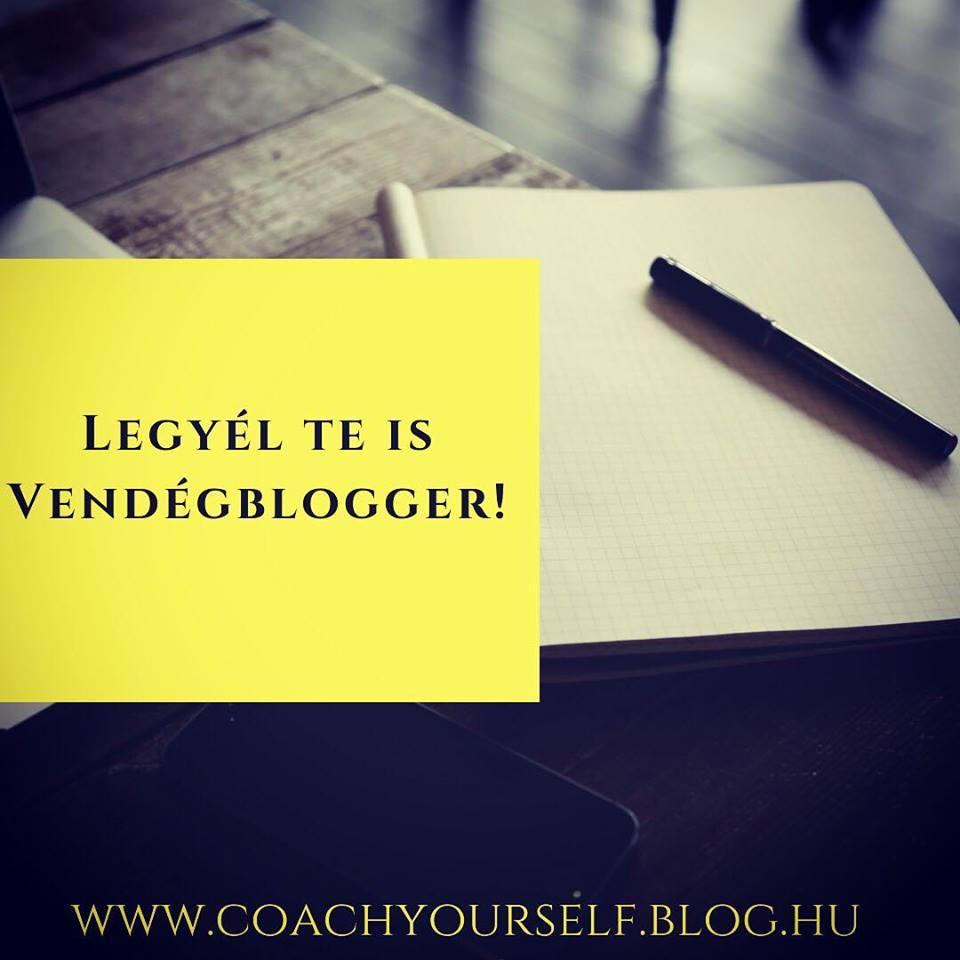 Legyél Te is vendégblogger!