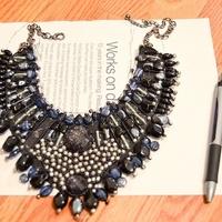 DIY - Egyedi nyakék kristályokkal
