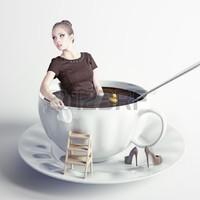 Receptre kávézok!