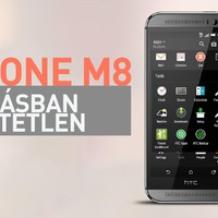 HTC ONE M8 – Hangzásban verhetetlen