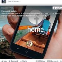 Mélyrepüléssel indított a Facebook Home