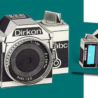 Működő kamera papírból, letölthető!