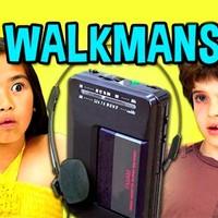 A mai hétévesek nem tudják mi az a walkman - Videó