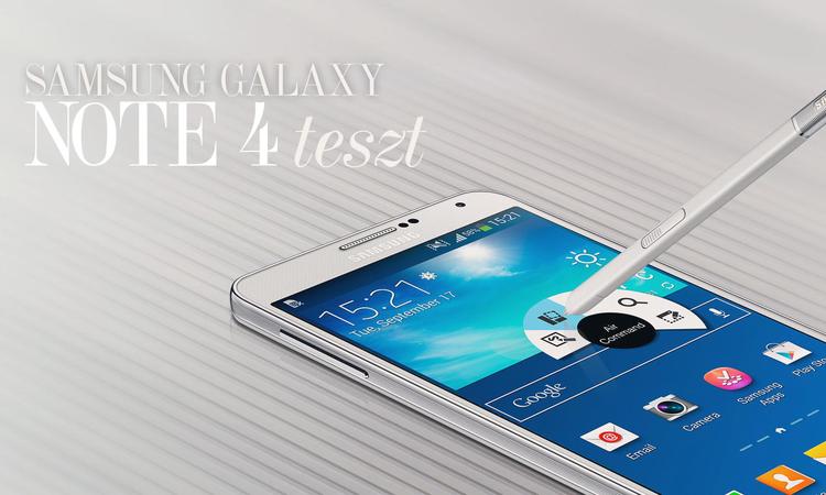 Samsung Galaxy Note 4 – Venni kell egy új nadrágot