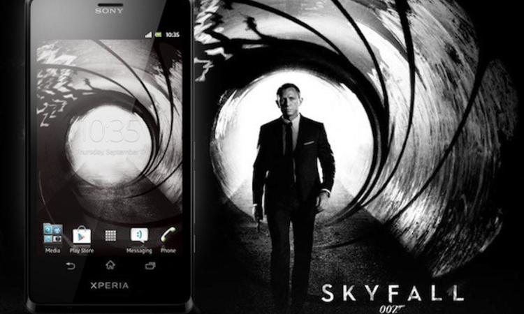 Xperia T - James Bond ezt választotta
