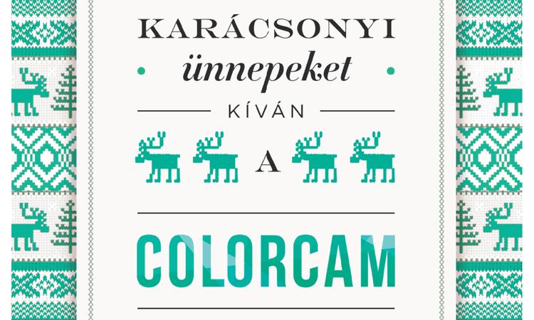 Boldog karácsonyt kíván a Colorcam csapata!