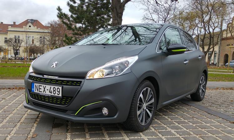 Peugeot 208 Allure teszt – Tuning gyilkos kisautó