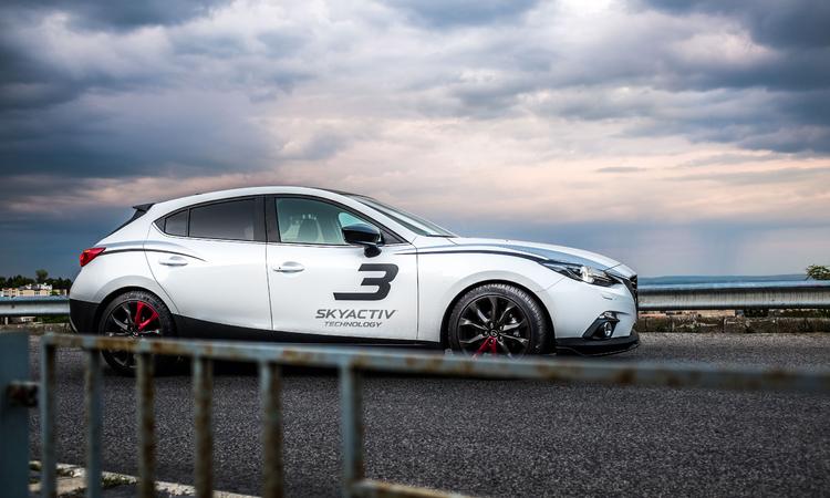 Mazda 3 Sport tuning - Mindent a szemnek