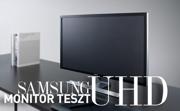 Samsung UD590 monitor teszt - Tökéletes UHD élmény