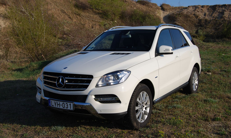 Teszt: MERCEDES-BENZ ML 250 BLUETEC 4MATIC